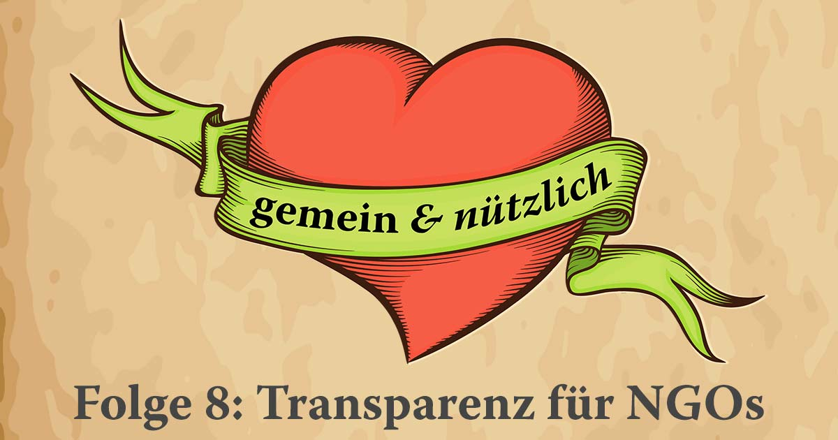 Podcast Titel Transparenz